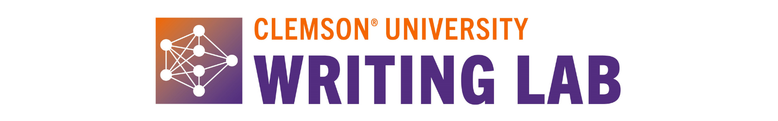 Clemson University Writing Lab Logo